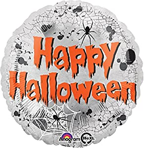 "Amscan International 3136701 ""Mirror Halloween Globos de Papel de Aluminio (estándar)"