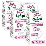 Love & Green Protège-slips Hypoallergéniques 0% x 30 - Lot de 4
