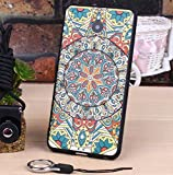 PREVOA Colorful Silicona Funda Case Protictive para Meizu M5 - Smartphone libre 4G 5.2 Pulgadas - 13