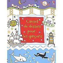 Carnet de dessins pour les garçons