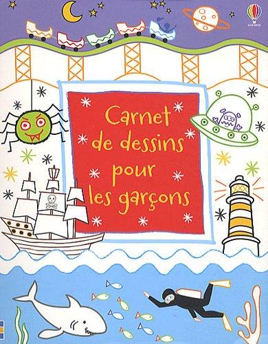 Carnet de dessins pour les garçons par Maria Pearson