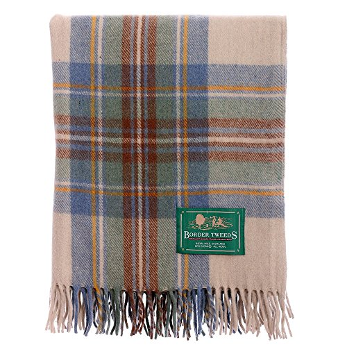 new-scottish-wool-tartan-knee-rug-muted-blue-stewart