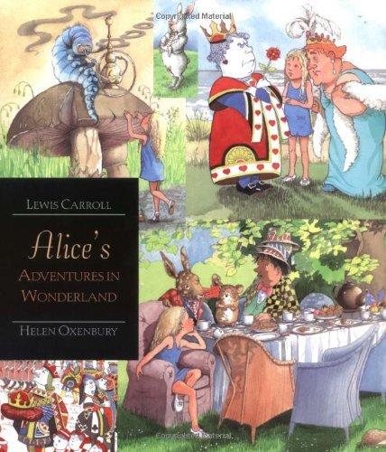 Portada del libro Alice's Adventures in Wonderland: Walker Illustrated Classics by Lewis Carroll (2-Mar-2009) Paperback