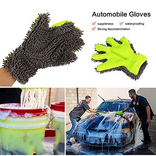 Sedeta-Guanto-da-dito-pieno-resistente-allauto-Spazzola-per-pulizia-lavaggio-asciugamano-asciugandosi-Kit-per-spolverini-in-microfibra-ciniglia