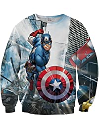 Sudadera Capitán América Shield Sweater MV-MA007
