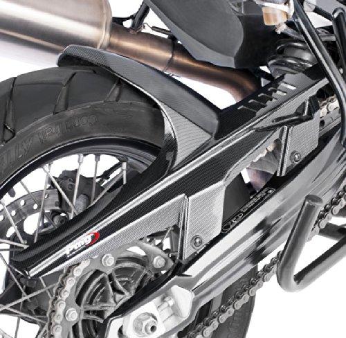 Garde boue arrière pour BMW F 800 GS 08-17 look carbone Puig 5865c