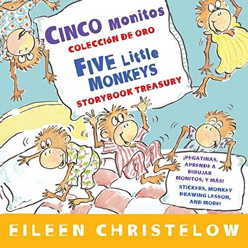Cinco Monitos Coleccion de Oro/Five Little Monkeys Storybook Treasury por Eileen Christelow