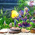 MIHOUNION 28.5cm Artificial Aquarium Plastic Plants Fish Tank Aquatic Ornaments Durable Realistic Tropical Vivarium… 9
