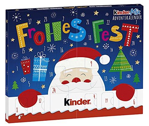 Calendario Para Kinder.Kinder Navidad Mix Mesa Calendario De Adviento 127g