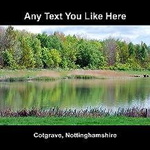 cotgrave, Nottinghamshire personnalisée Sous-verre
