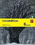 Matemáticas. 6 Primaria. Trimestral. Savia  - Pack de 3 libros - 9788467575675 (Tapa blanda)
