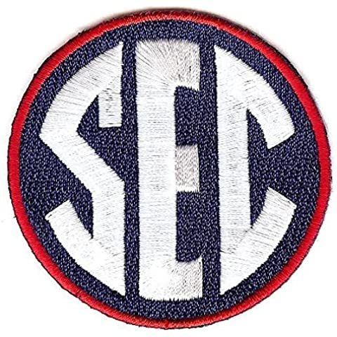 SEC Conference Team Jersey Uniform Patch Ole Miss Rebels by Patch Collection