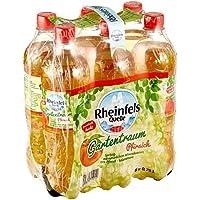 Rheinfels Quelle Gartenfrüchte Pfirsich Einweg, 6er Pack (6 x 750 ml)