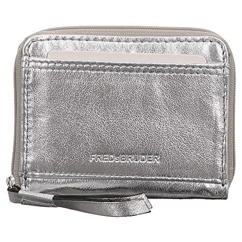 FREDsBRUDER | Coin Pocket | Geldbörse - silber | silver, Farbe:silber, Größe:1