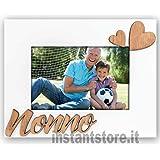 Zep MN464HI Cornice Nonno In Legno, Bianco