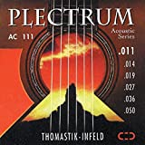 Thomastik Saiten für Akustikgitarre Plectrum Acoustic Series. Nickelfrei .016 Einzelsaite