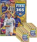 FIFA 365 - 2017/2018 - Sammelsticker - Tüten, Display, Album, Bliter - Deutsch (1 Album + 10 Tüten)