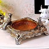 Cenicero decorativo antiguo creativo y cenicero con escritorio de tapa moda/Estudio escritorio cenicero ornamentos de la manera