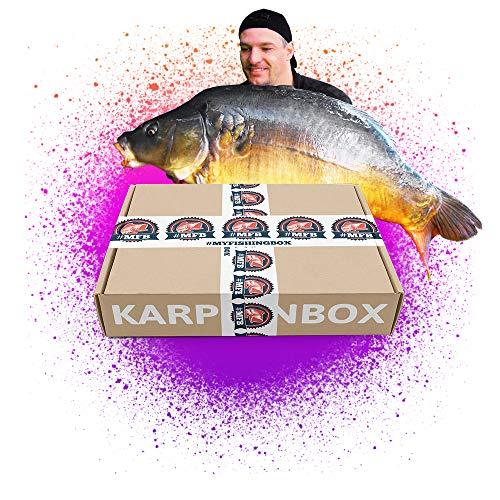#MFB – Karpfen Set // Das Karpfen Set von MyFishingBox für gezieltes Angeln auf Schuppenkarpfen oder Spiegelkarpfen in einer Überraschungsbox // Die erfolgreichsten Köder für die Wasserschweine