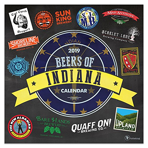 2019 Beers of Indiana Wall Calen...