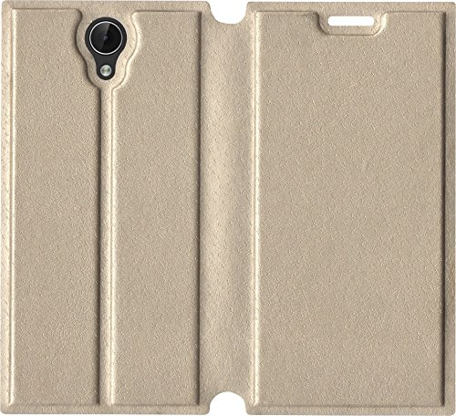 Xolo Era 3 Flip Cover (Gold)  available at amazon for Rs.37