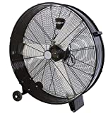 ZDM60CM Ventilatore Industriale da Terra Zephir Professionale con Ruote Struttura Interamente in...