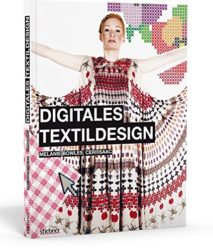 Digitales Textildesign (Mode-illustration Textilien)