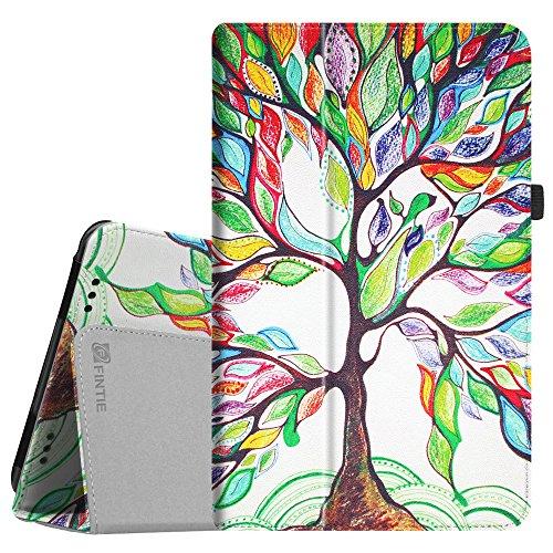 Fintie Hülle für XIDO X111 25,4 cm (10 Zoll) Tablet-PC - Premium Folio Kunstleder Schutzhülle Tasche mit Standfunktion, Liebesbaum
