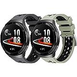Songsier Armband kompatibelt med Huawei Watch GT2e, sport vattentätt ersättningsarmband av mjuk silikon endast för Huawei Wat
