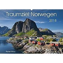 Traumziel Norwegen 2018 (Wandkalender 2018 DIN A2 quer): Die atemberaubende Schönheit Norwegens in 12 Bildern. (Monatskalender, 14 Seiten ) (CALVENDO Natur)