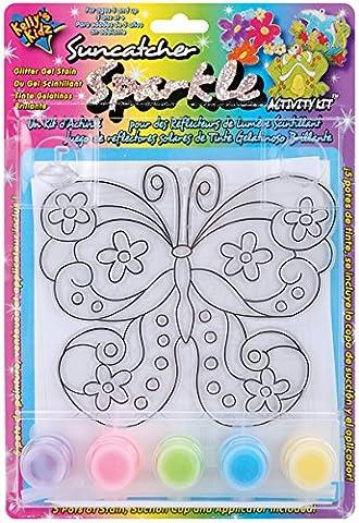 Suncatcher Sparkle Activity Kit-Butterfly