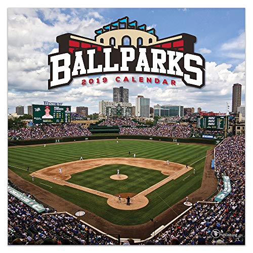Ballparks 2019 Calendar por TF Publishing