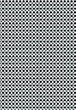 Clairefontaine Seidenpapier, bedruckt, schwarz Mosaik