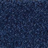 Teppichboden Auslegware Meterware Hochflor Shaggy Langflor Velour blau 400 und 500 cm breit, verschiedene Längen