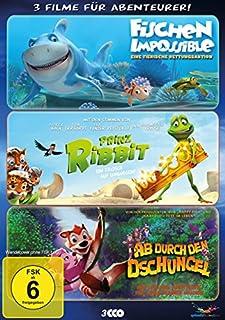 Abenteurer Box : Fischen Impossible - Prinz Ribbit - Ab durch den Dschungel [3 DVDs]