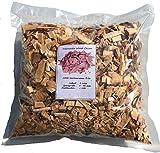 Brennholz Handel Warnecke Wood Chips Érle Alder Wood - 4 Liter Räucherchips für Grill und Smoker BBQ