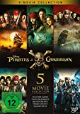 Pirates of the Caribbean 5-Movie Collection [5 DVDs] -
