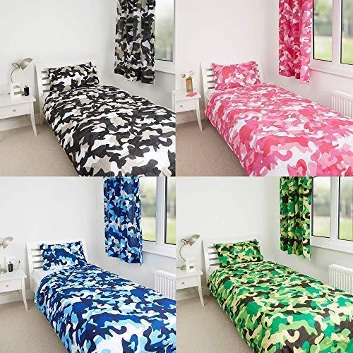 Diseño ropa cama camuflaje azul The Gift Scholars