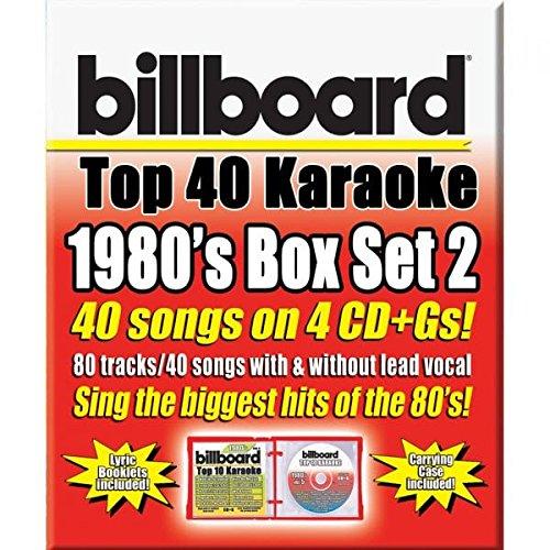 Party Tyme Karaoke: Billboard 1980's Top 40 Karaoke Box Set 2