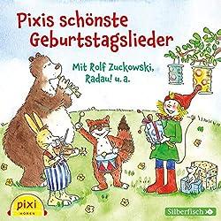 Pixi Hören: Pixis schönste Geburtstagslieder: 1 CD