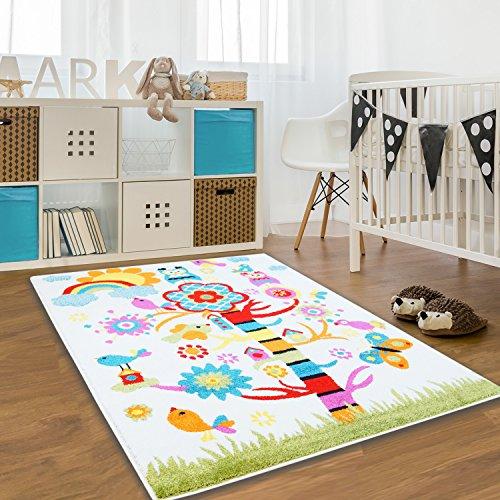 tappeto-per-bambini-moda-oko-tex-motivo-albero-colore-panna-e-altri-cori-diverse-misure-80-cm-x-150-