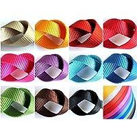 Gurtband Nylon - Breite: 15,20,25mm - Länge: 1,10,50m - verschiedene Farben (20mm - 10 Meter, orange)