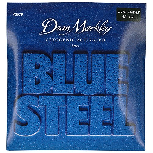 DEAN MARKLEY 2679 BLUE STEEL BASS ML 5   CUERDAS PARA GUITARRA ( 045    128)