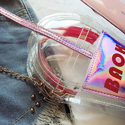 MILATA, Borsa a tracolla donna Pink