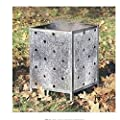 Parasene Square Garden Incinerator Flat Pack Yard Garden Landscaping Landscape Home House Patio Backyard Design Gadgets Stuff Birthday Gift Botany Plant Gardening Vegetable Container Flower Planning Front Maintenance Contemporary Layout Planting Modern Sh