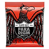 Cuerdas de guitarra eléctrica Ernie Ball Skinny Top Heavy Downlight Slinky Paradigm - 10-52 Calibre