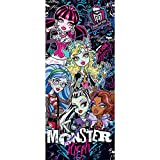 Tür Fototapete Türtapete 91x211 cm Türfolie selbstklebend o. Vlies PREMIUM PLUS - Tür Türposter Türpanel Foto Tapete Bild - MATTEL Monster High Kindertapete Cartoon Puppen Monster Mode - no. 1144, Material:91x211cm Vlies