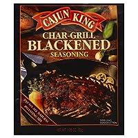 Cajun King Char Grilled Seasoning Mix 1.25 OZ (Pack of 6)