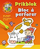 De kleine boerderij prikblok (met prikpen en viltmat) / La jolie ferme Bloc à perforer (avec poinçon et tapis)