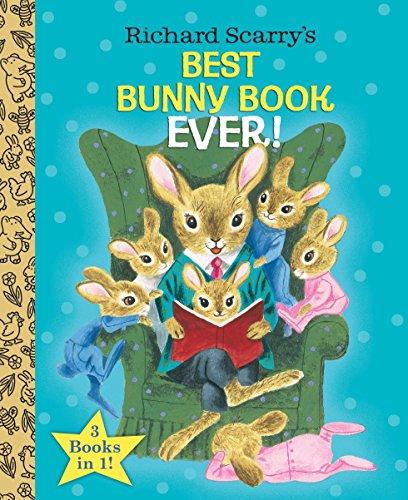 Richard Scarry's Best Bunny Book Ever! (Little Golden Book Favorites)
